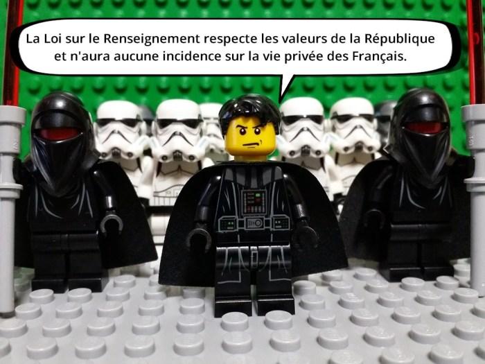 La Loi sur le Renseignement respecte les valeurs de la République et n'aura aucune incidence sur la vie privée des Français