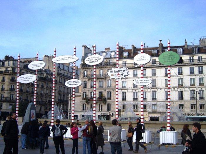 Phylacteres - Place Hotel de Ville - Paris