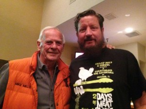 """I met The Legend Mike Mills, author of """"Peace, Love, & BBQ"""""""