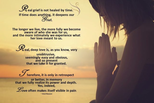 grief quote real grief