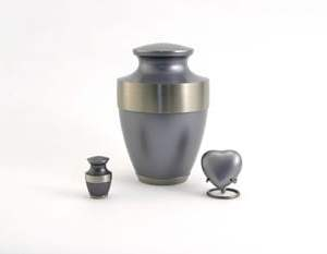 Lineas Starlight Blue Ashes Urn