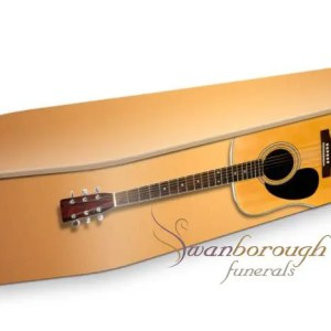 Acoustic Guitar Coffin