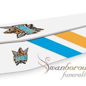 Gold Coast Titans Coffin