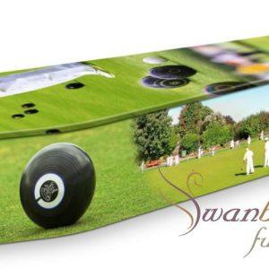 Lawn Bowls Coffin