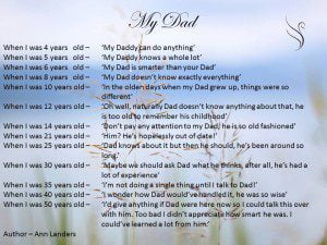 Funeral Poem For My Dad