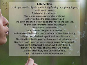 A Reflection