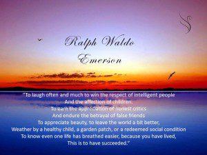 Funeral Reading Ralph Waldo Emerson