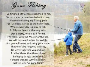 Funeral Poem Gone Fishing