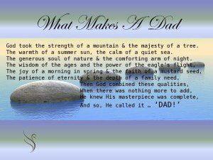 Funeral Poem Dad