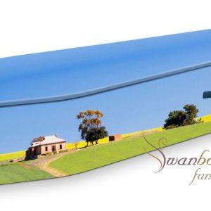 Windmill Farmhouse Coffin