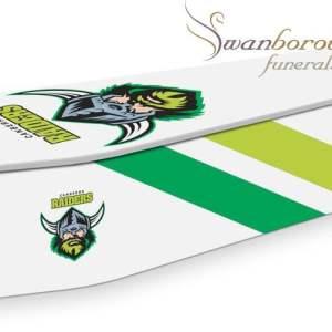 Canberra Raiders Coffin