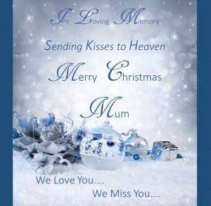 christmas in heaven mum