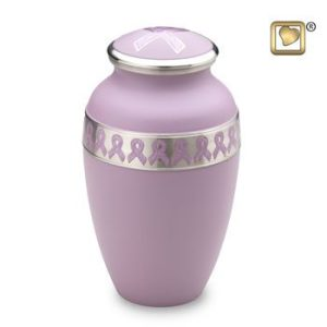 Awareness Pink Cremation Urns