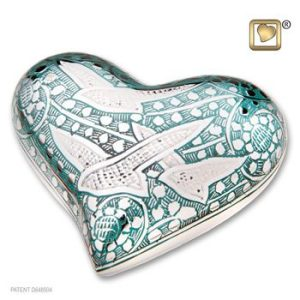 Returning Home Heart Keepsake Urn