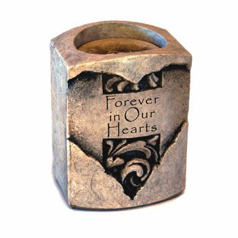 Heart Candle Cremation Urn