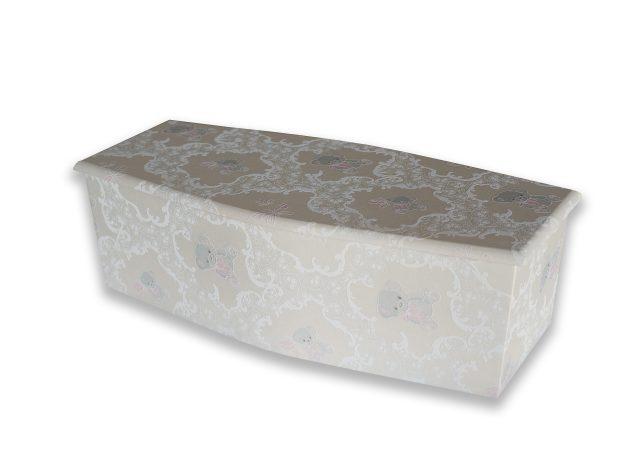Cherub Blue Coffin