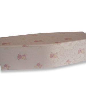 Cherub Pink Coffin