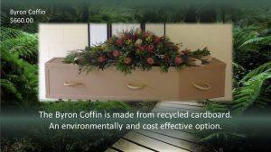 Byron Cardboard Coffin
