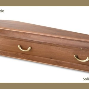 Kalinda Sapele Solid Timber Coffin