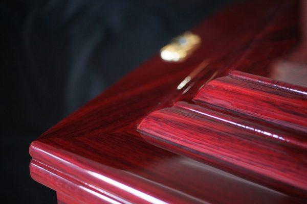 Allambee Rosewood Coffin