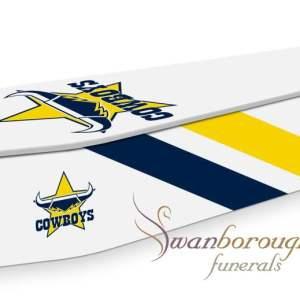 North Queensland Cowboys Coffin