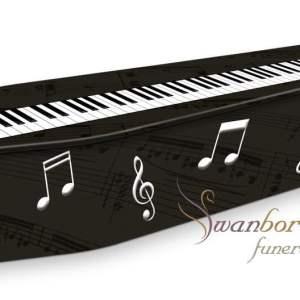 Piano Coffin