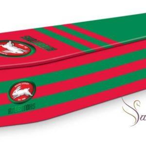 South Sydney Rabbitohs Coffin