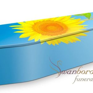 Sunflower Coffin