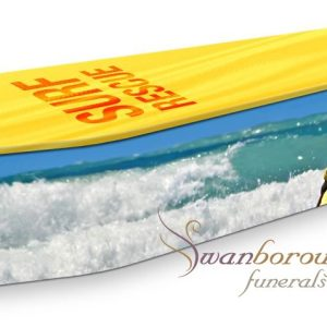 Surf Rescue Coffin