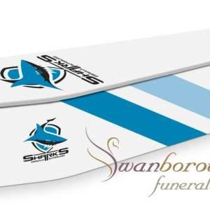 Cronulla sutherland sharks coffin