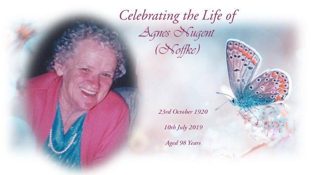 Agnes Nugent nee Noffke
