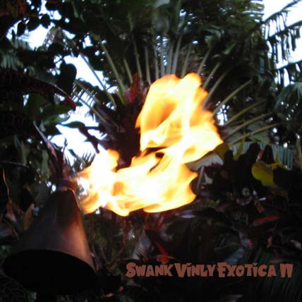 The Swank Vinyl Exotica CD II 30 Tracks of vintage vinyl for your tiki bar soundtrack. The exotic mood of the classic tiki bar is recreated from vintage vinyl.