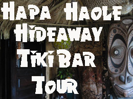 Hapa Haole Hideaway Tiki Bar Tour A tour of my home tiki bar