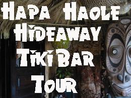 Hapa Haole Hideaway Tiki Bar Tour A tour of my home tiki bar
