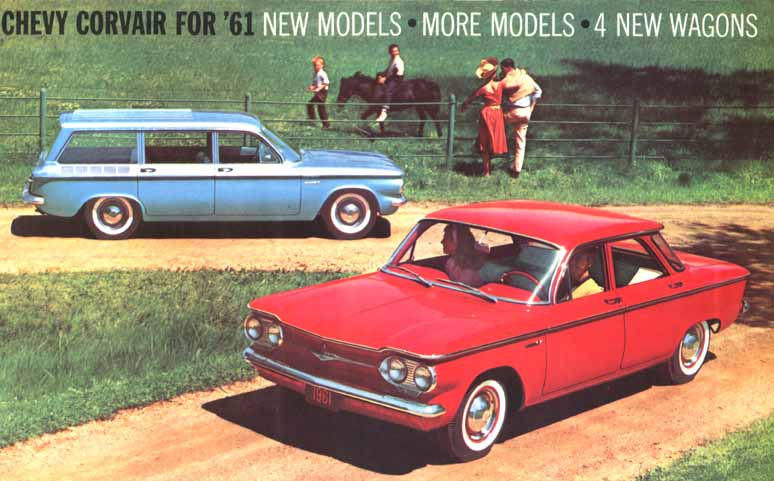 1961 Corvair Catalog