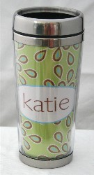 Personalized Travel Mug  Avocado