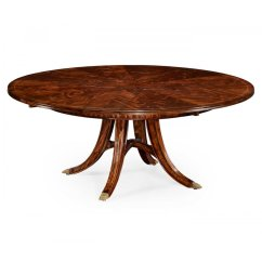 8 Seater Round Dining Table And Chairs Industry West 10 Extending Swanky Interiors