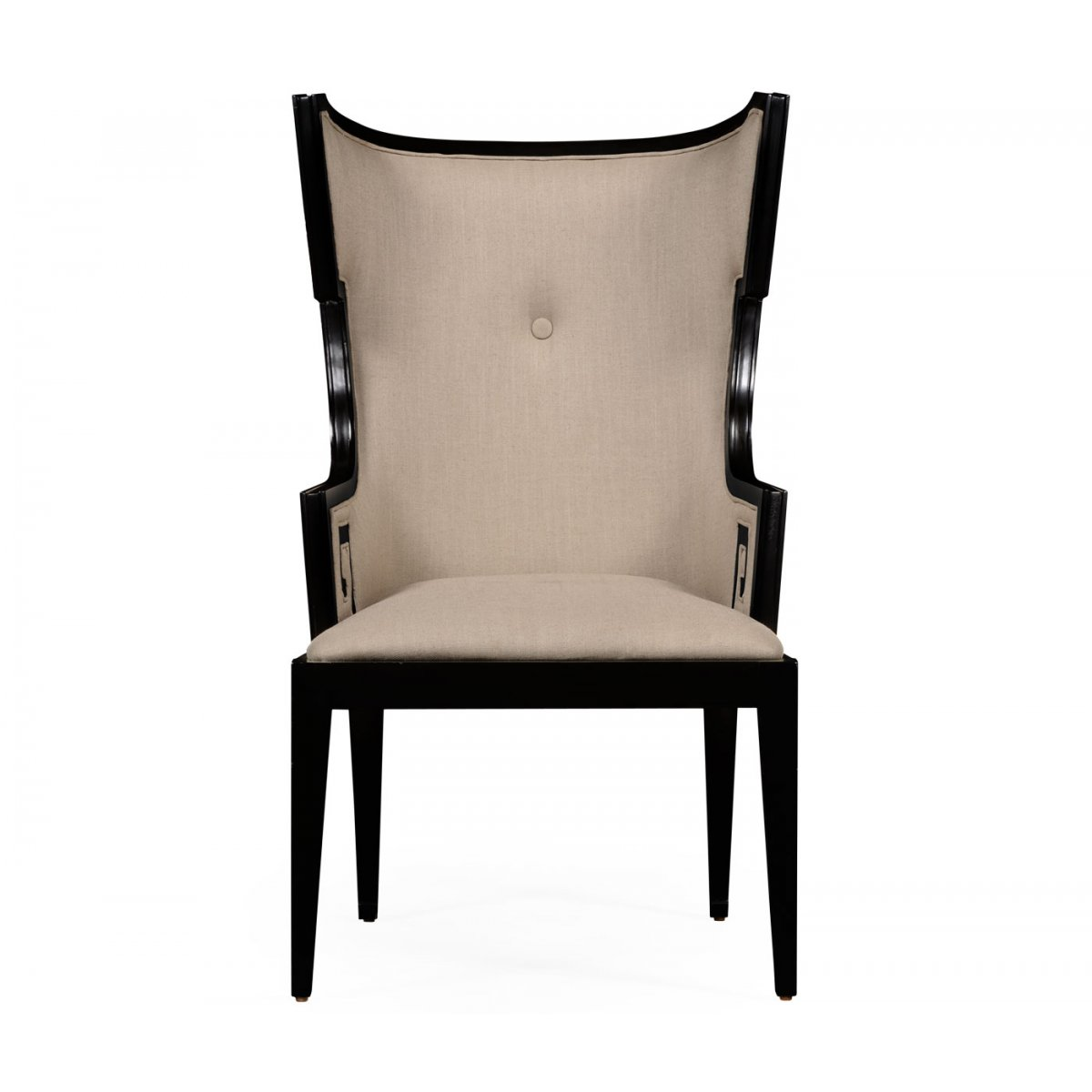 designer dining chairs best posture chair support armchair wing swanky interiors