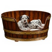 Luxury Dog Bed, Small Size 25'' | Swanky Interiors