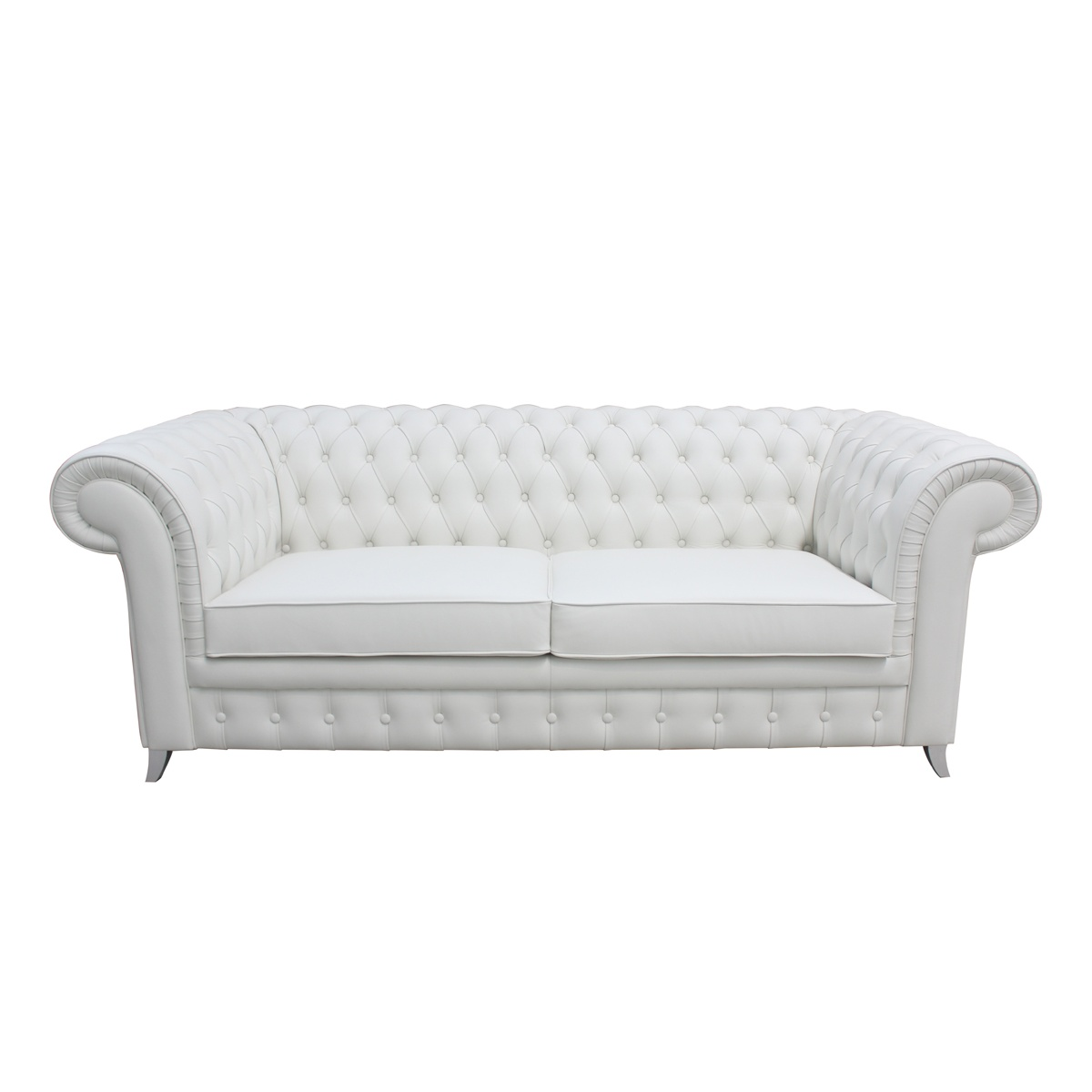 chesterfield sofa leather white best loveseat sleeper chaplin swanky interiors