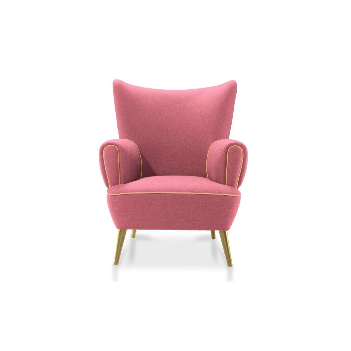 accent wingback chairs chaise for bedroom chair garland swanky interiors