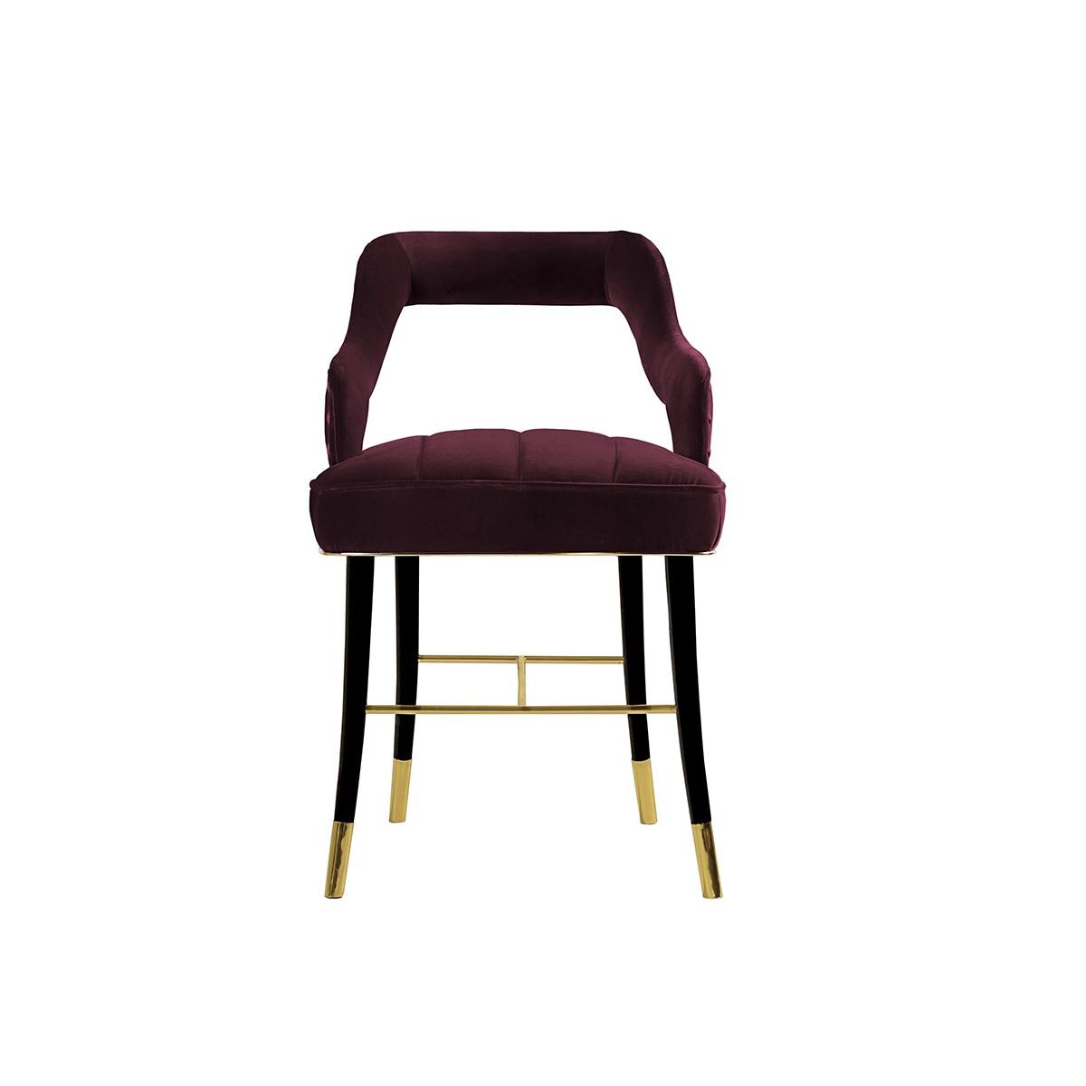 velvet dining room chairs uk wicker baby shower chair kelly designer swanky interiors