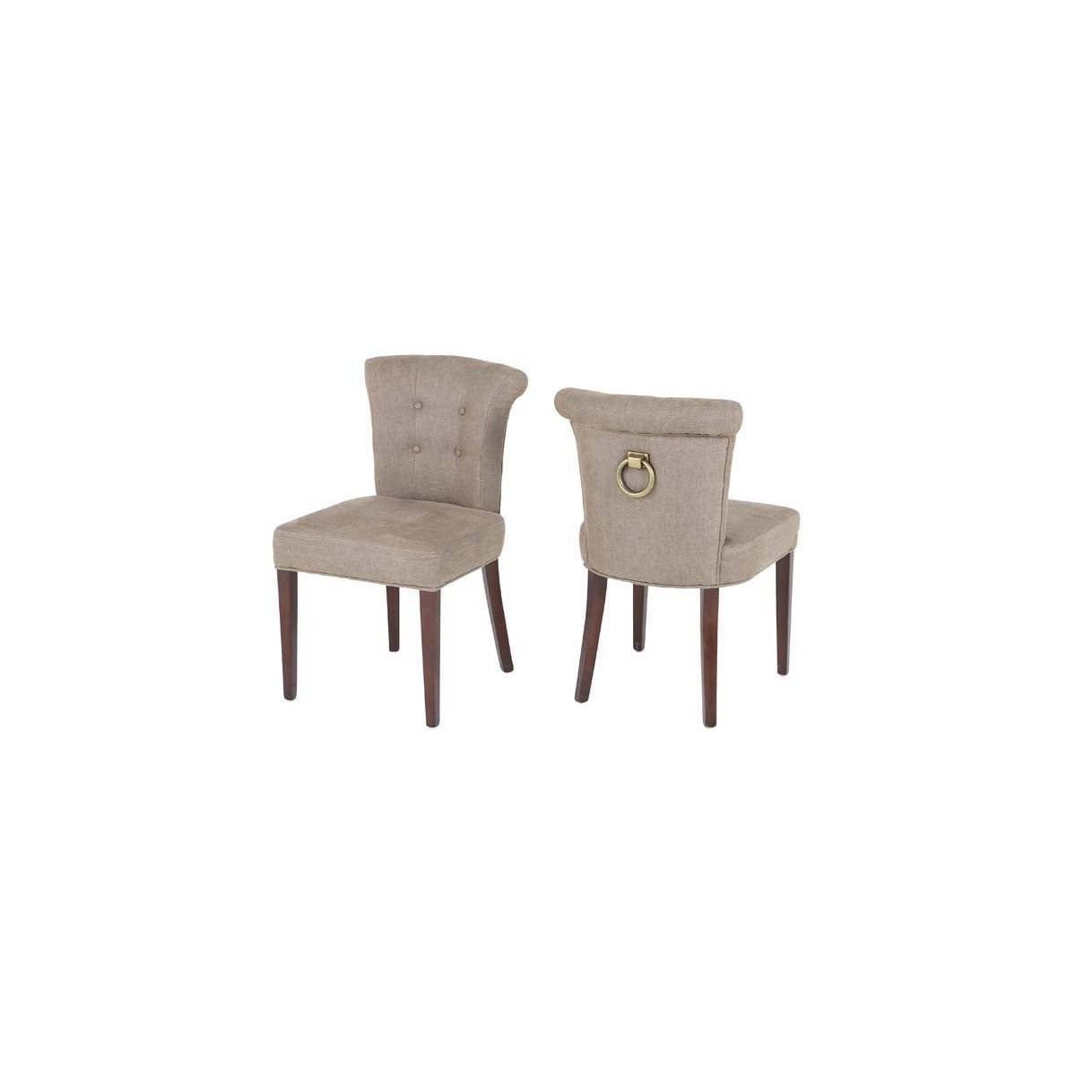 ring back dining chair stairway lifts eichholtz linen swanky interiors furniture with camel colour
