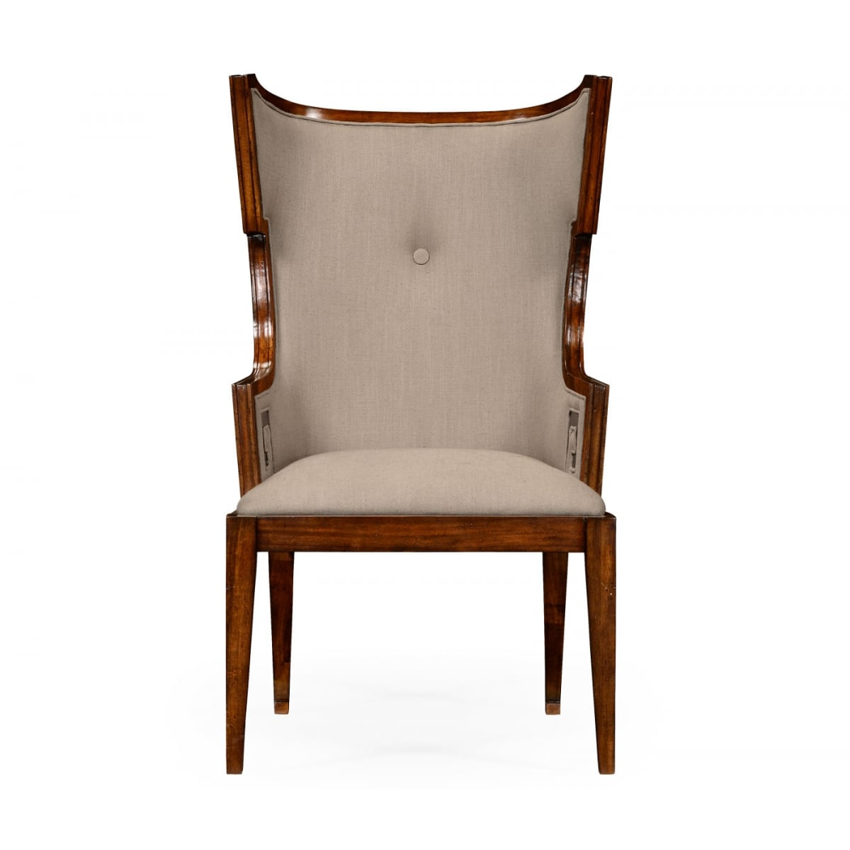 chair designer charles best executive wing walnut swanky interiors
