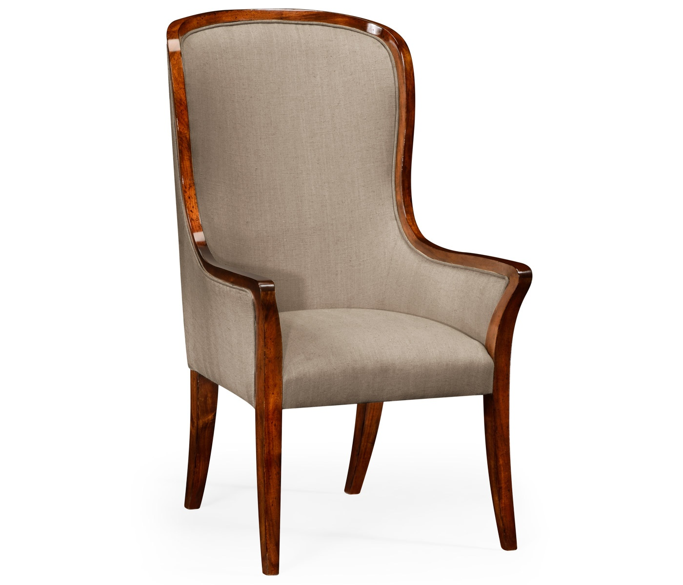 high back chairs uk only kitchen chair covers dublin upholstered dining armchair swanky interiors