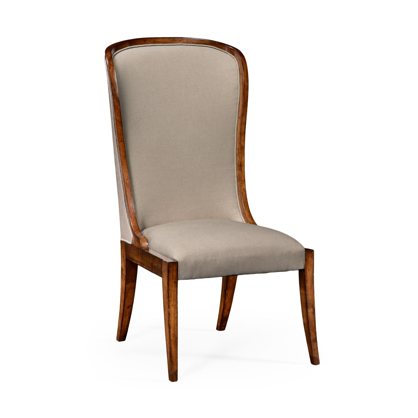 High Back Upholstered Dining Chair  Swanky Interiors