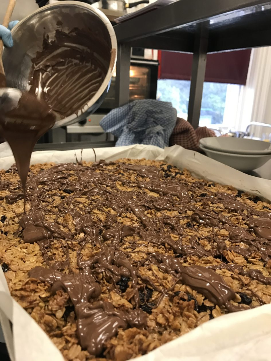 Flapjack, Meals On Wheels, Meal Delivery Service, Swanland House, Baking, Sweet, Dessert, Pudding