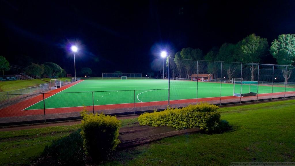 Kearsney College Hockey Field Flood Lighting