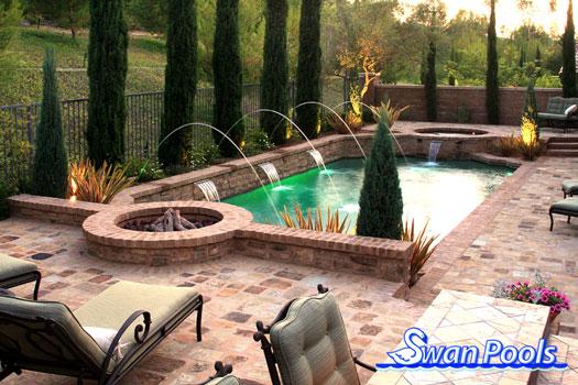 swan pools custom design - swimming