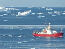 Antarctic glacier retreating 4